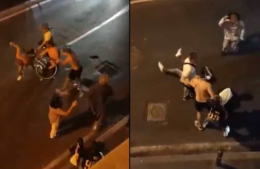 Rissa in via Funaioli, colpito con una bicicletta poi picchiato da due mentre è a terra