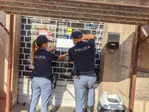 Controllo del territorio: piazza della Repubblica, sospesa per 7 giorni la licenza a una caffetteria