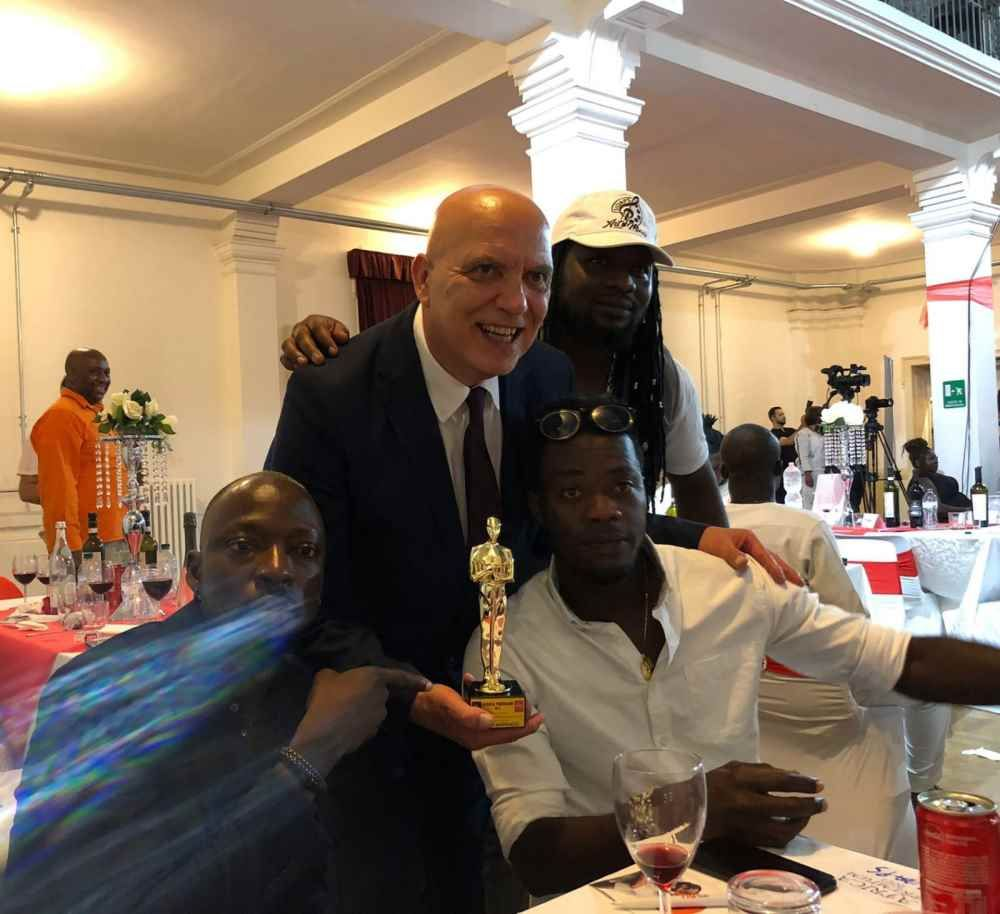 Afro Oscar a Milano per Marrucci presidente di Africa Academy