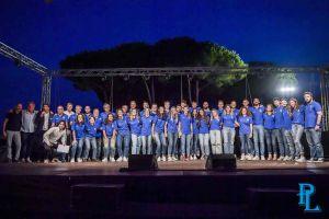 La Pielle Livorno si presenta sul palco della Fortezza, entusiasmo alle stelle