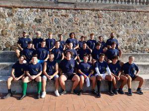 Rugby, il Granducato under 17 termina il ritiro