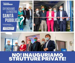 """PaP: """"Difendono la nostra sanità? No inaugurano strutture private"""""""
