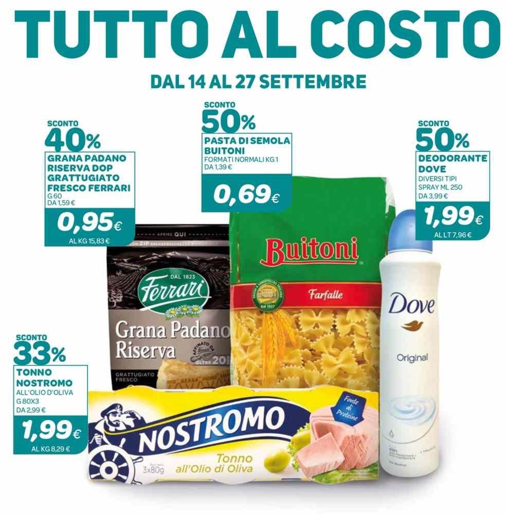 La tua spesa, le offerte fino al 27 settembre nei supermercati Ekom Mazzini, Olandesi e Grotta delle Fate