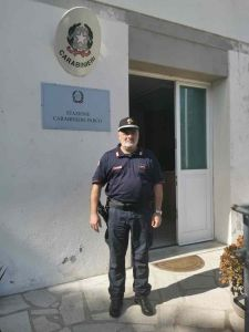 Elba Carabinieri Forestali, in pensione il comandante Giovanni Venditti