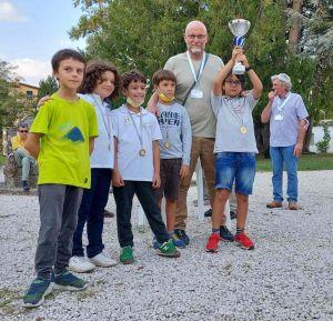 Livorno scacchi campione regionale under 10