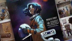 Nasa lancia la prima donna di colore sulla Luna, è un fumetto interattivo (Video)