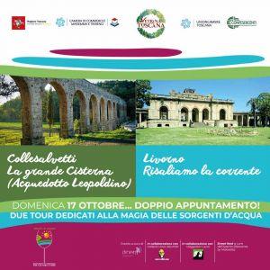 """Domenica, """"Alla scoperta delle vie d'acqua tra Collesalvetti e Livorno"""""""