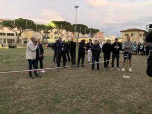 Inaugurato il nuovo impianto luci al campo sportivo Della Pace