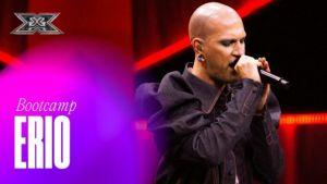 """Erio guadagna la sedia ai Bootcamp X Factor 2021, Agnelli: """"Sei unico"""" (Video)"""