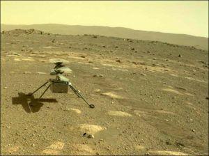 Nasa: fallito l'ultimo volo su Marte del drone-elicottero Ingenuity
